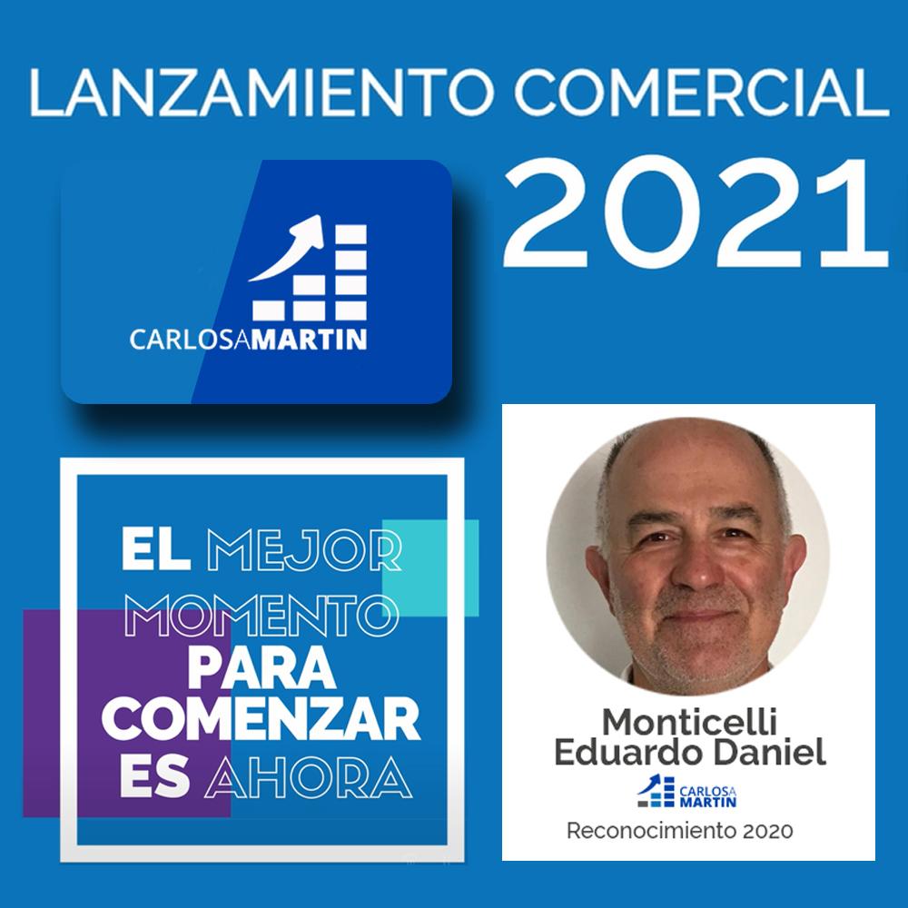 Reconocimiento a Eduardo | LANZAMIENTO COMERCIAL CAM 2021