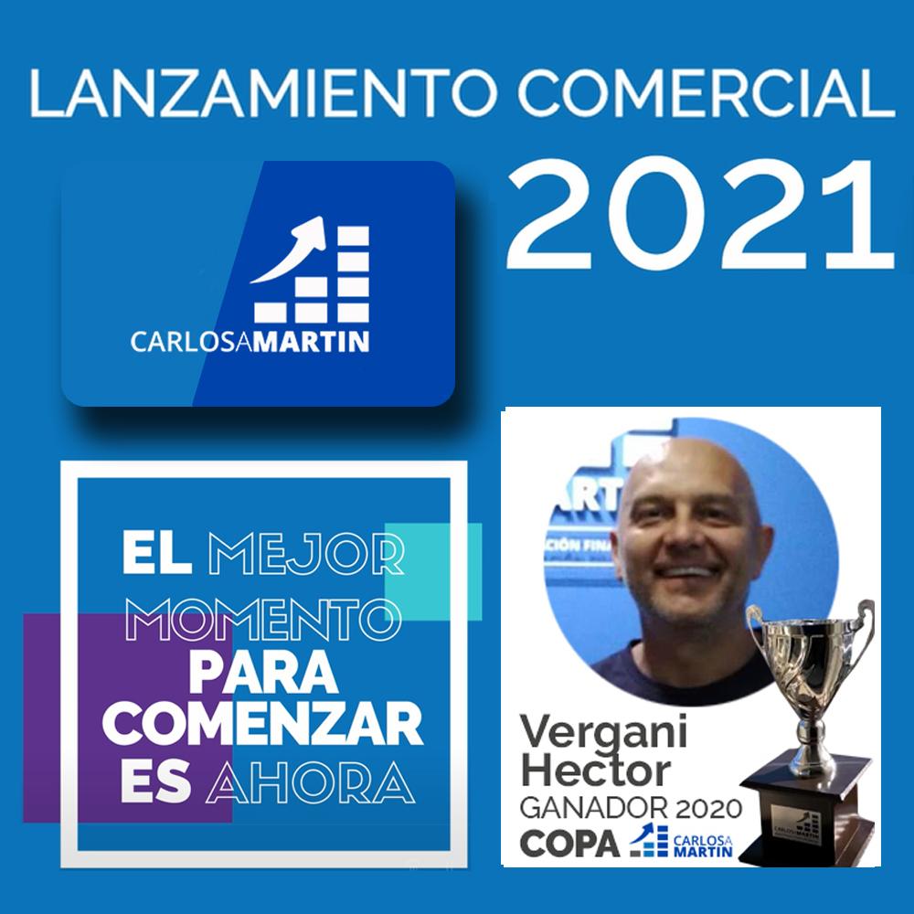 Entrega de Copa a Hector | LANZAMIENTO COMERCIAL CAM 2021