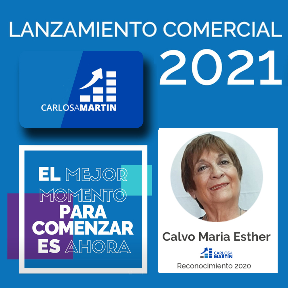 Reconocimiento a Esther | LANZAMIENTO COMERCIAL CAM 2021