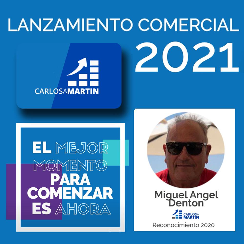 Reconocimiento a Mike | LANZAMIENTO COMERCIAL CAM 2021