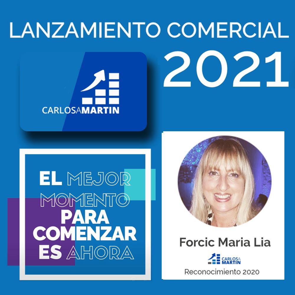 Reconocimiento a Lia | LANZAMIENTO COMERCIAL CAM 2021